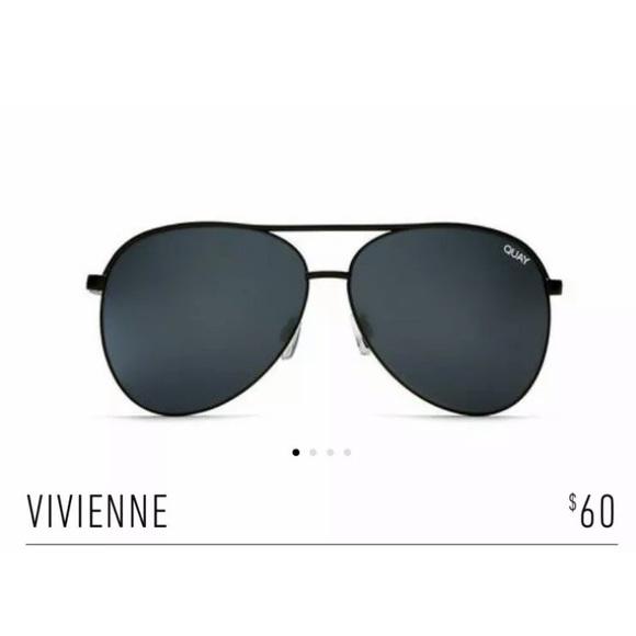 8590acd207210 New Quay Vivienne Sunglasses in Black Smoke